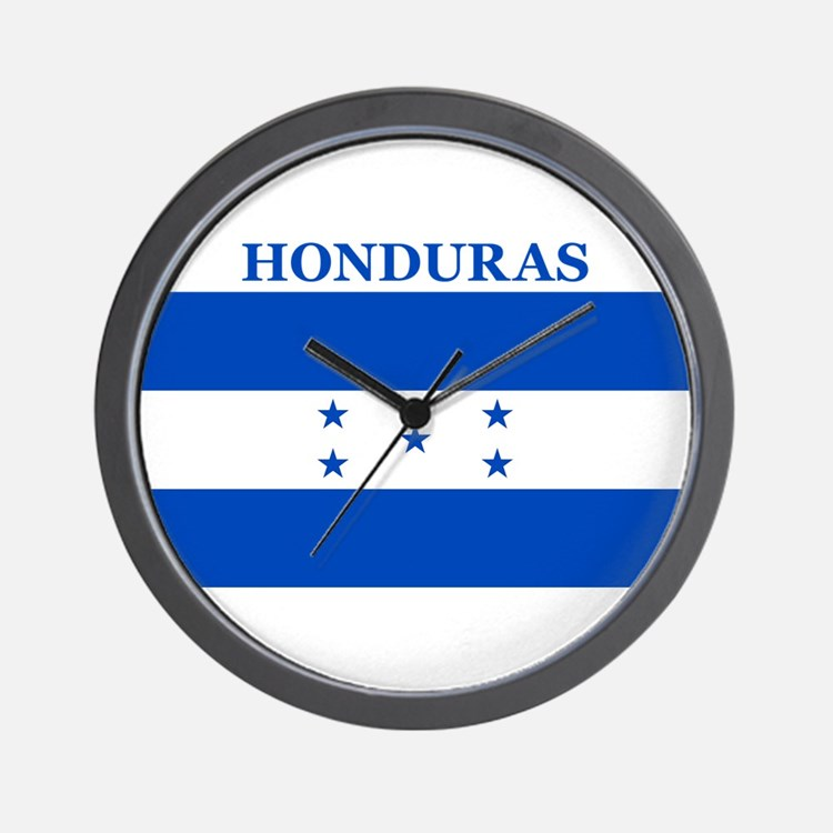 Cute Honduras Wall Clock