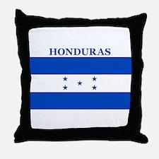 Cute Honduran flag Throw Pillow