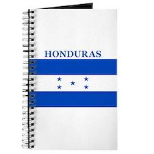 Cute Honduran flag Journal