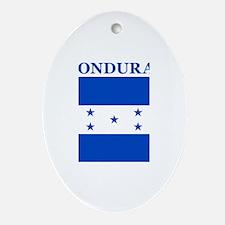 Cute Honduras Oval Ornament