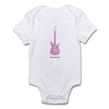 Anti Pink Guitar Infant Bodysuit