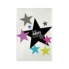 Anti Stars Rectangle Magnet