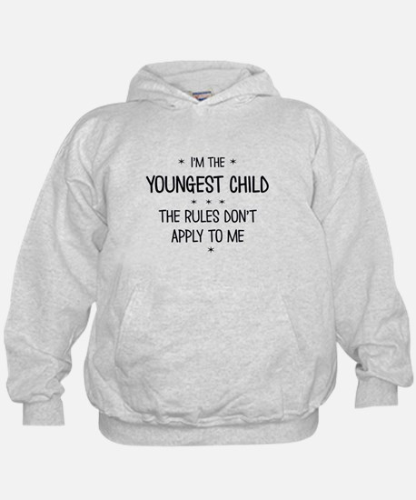 YOUNGEST CHILD 3 Hoodie