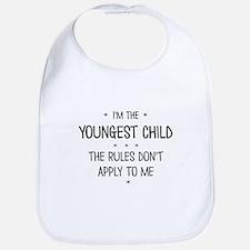 YOUNGEST CHILD 3 Bib