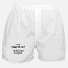 YOUNGEST CHILD 3 Boxer Shorts