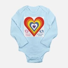 Rainbow Babies Body Suit