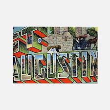 Unique St augustine fl Rectangle Magnet