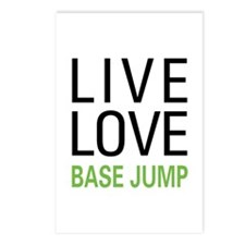 Live Love BASE Jump Postcards (Package of 8)
