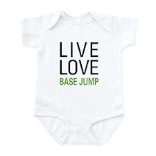 Live Love BASE Jump Infant Bodysuit