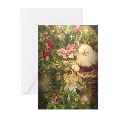 Old Fashioned Christmas Greeting Cards (Pk of 20)