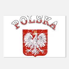 polska flag Postcards (Package of 8)