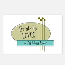Everybody Loves a Psychology Major Postcards (Pack