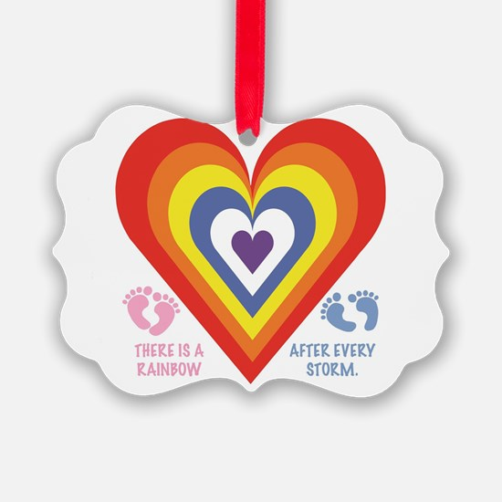Rainbow Baby Ornament