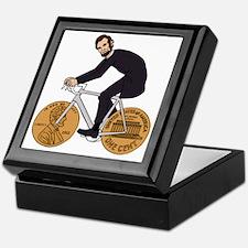 Cute Abe lincoln Keepsake Box