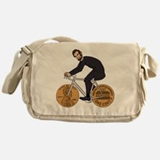 Cute Abraham lincoln Messenger Bag