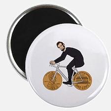 Unique Bicycling Magnet