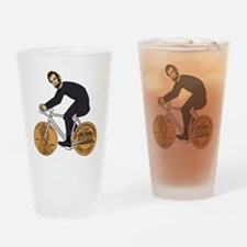 Unique Abraham lincoln Drinking Glass