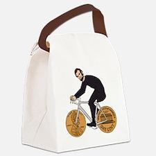 Cute Abe Canvas Lunch Bag
