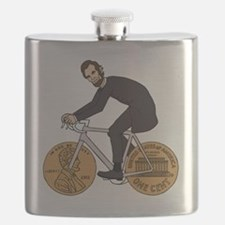 Cute Lincoln Flask