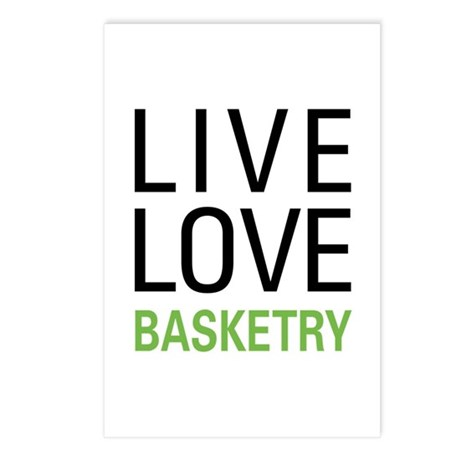 Live Love Basketry Postcards (Package of 8)