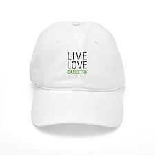 Live Love Basketry Baseball Cap