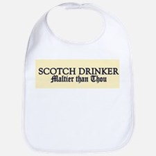 Scotch Drinker Bib