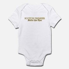 Scotch Drinker Infant Bodysuit