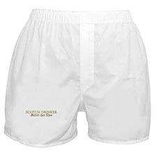 Scotch Drinker Boxer Shorts