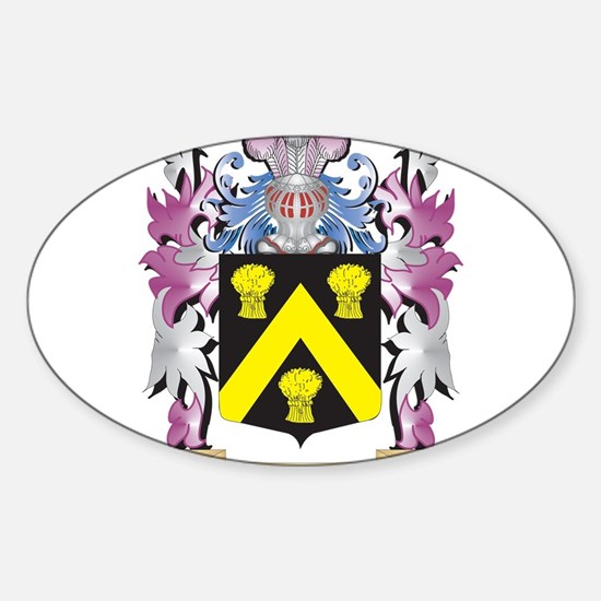 Wickes Coat of Arms - Family Crest Decal