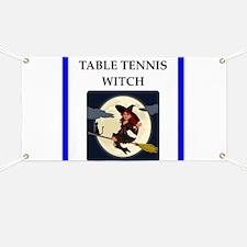Table tennis joke Banner
