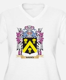 Wicks Coat of Arms - Family Cres Plus Size T-Shirt