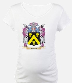 Wicks Coat of Arms - Family Cres Shirt