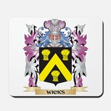 Wicks Coat of Arms - Family Crest Mousepad