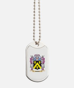 Wicks Coat of Arms - Family Crest Dog Tags