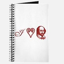 I <3 The Bard (Shakespeare) Journal
