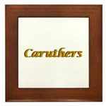 Caruthers Framed Tile