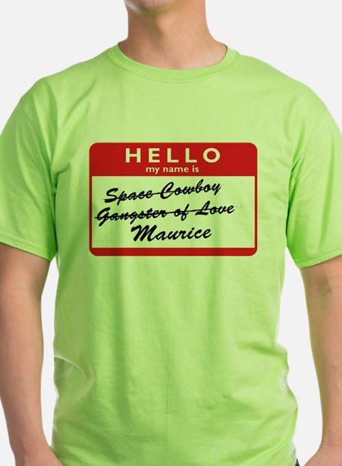 2-hello my name is maurice T-Shirt