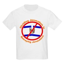 Stop Division of Jerusalem T-Shirt
