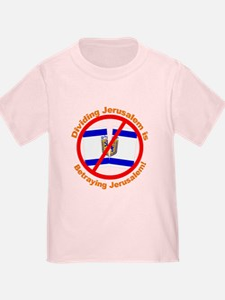 Stop Division of Jerusalem Toddler Tee