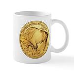 Gold Buffalo Mug