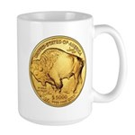 Gold Buffalo Large Mug