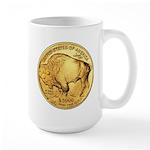 Gold Buffalo Large Mug