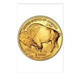 Gold Buffalo Postcards (Package of 8)