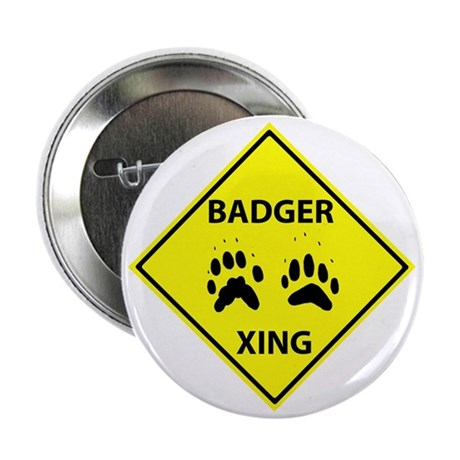"""Badger Crossing 2.25"""" Button (10 pack)"""