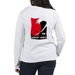 Nobody Surfs Like a Wahine Women's Long Sleeve T-S