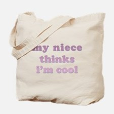 My Aunt is Cool Tote Bag