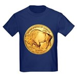 Gold Buffalo Kids Dark T-Shirt