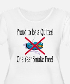Proud Quitter (One Year) T-Shirt