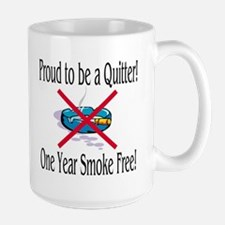 Proud Quitter (One Year) Mug