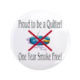 "Quit smoking 3.5"" Round"